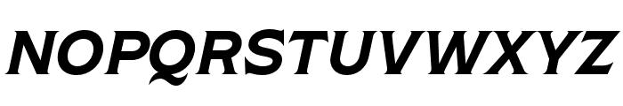 Shackleton Narrow Italic Font UPPERCASE