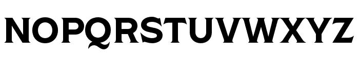 Shackleton Narrow Font UPPERCASE