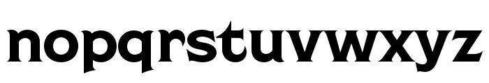 Shackleton Narrow Font LOWERCASE