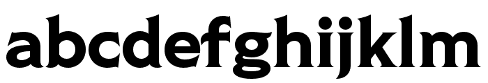 Shackleton Regular Font LOWERCASE