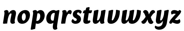 Sharik Sans ExtraBold Italic Font LOWERCASE