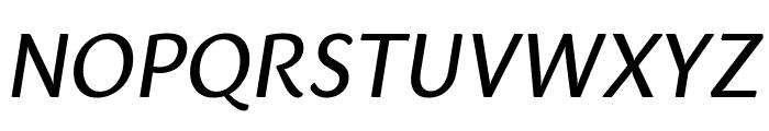 Sharik Sans Regular Italic Font UPPERCASE