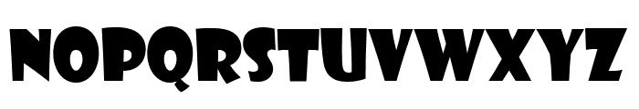 Showcard Gothic Regular Font LOWERCASE