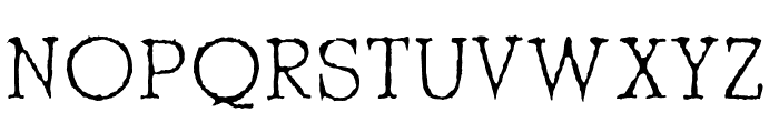 Shrub Regular Font UPPERCASE