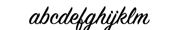 Sign Painter Regular Font LOWERCASE