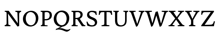 Sirba Regular Font UPPERCASE