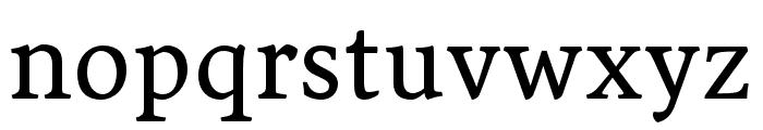 Sirba Regular Font LOWERCASE