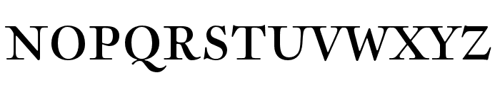Sirenne SeventyTwo MVB Roman Font UPPERCASE