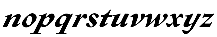 Sirenne Text MVB Bold Italic Old Style Figures Font LOWERCASE