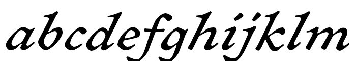 Sirenne Text MVB Bold Old Style Figures Font LOWERCASE