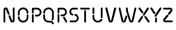 Siruca Regular Font UPPERCASE