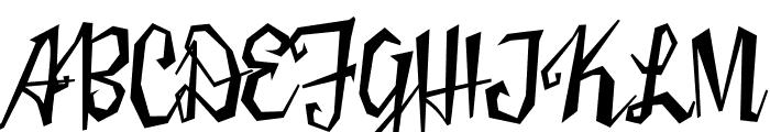 Sister Frisky Regular Font UPPERCASE