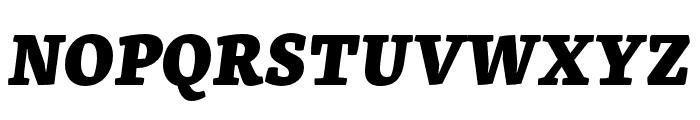 Skolar Latin Extrabold Italic Font UPPERCASE