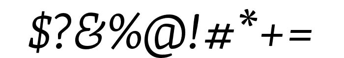 Skolar Latin Light Italic Font OTHER CHARS