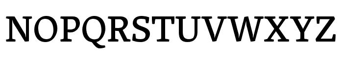 Skolar Latin Medium Font UPPERCASE