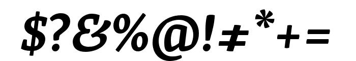 Skolar Latin Semibold Italic Font OTHER CHARS