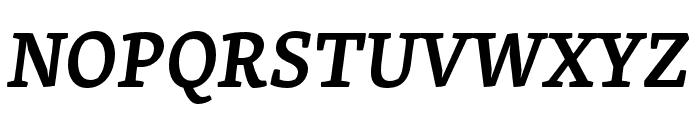 Skolar Latin Semibold Italic Font UPPERCASE
