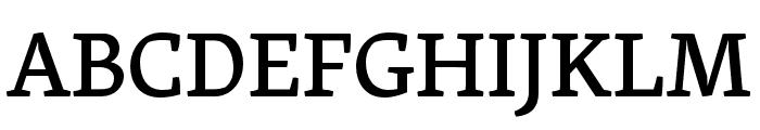 Skolar PE Medium Font UPPERCASE