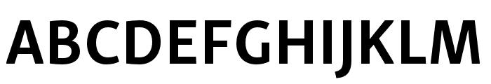 Skolar Sans Latin Compressed Bold Font UPPERCASE