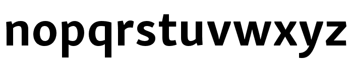 Skolar Sans Latin Compressed Bold Font LOWERCASE
