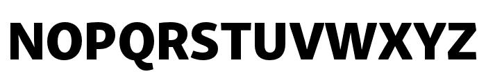 Skolar Sans Latin Condensed Extrabold Font UPPERCASE