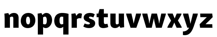 Skolar Sans Latin Condensed Extrabold Font LOWERCASE