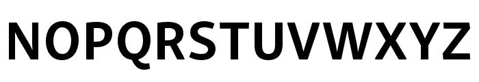 Skolar Sans PE Compressed Bold Font UPPERCASE