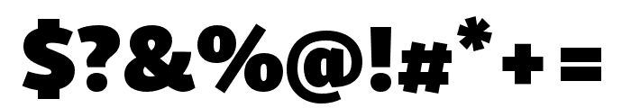 Skolar Sans PE Extended Black Font OTHER CHARS