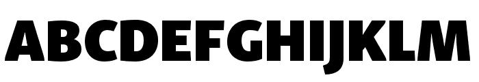 Skolar Sans PE Extended Black Font UPPERCASE