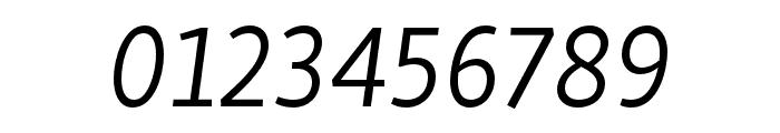 Skolar Sans PE Extended Light Italic Font OTHER CHARS