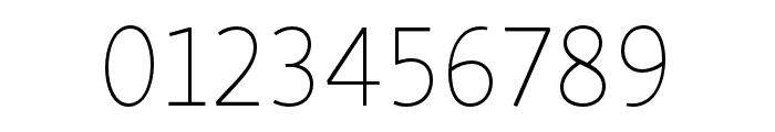 Skolar Sans PE Extended Thin Font OTHER CHARS