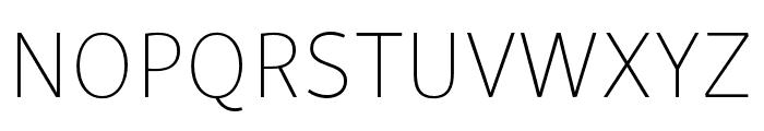 Skolar Sans PE Extended Thin Font UPPERCASE
