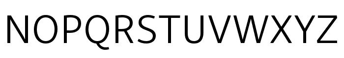 Skolar Sans PE Light Font UPPERCASE