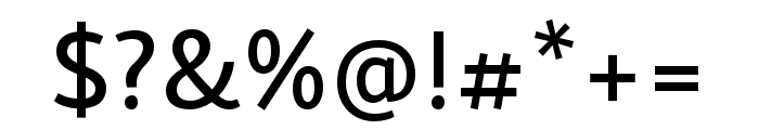Skolar Sans PE Medium Font OTHER CHARS