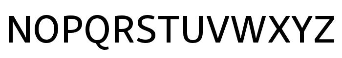Skolar Sans PE Medium Font UPPERCASE