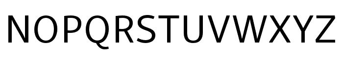 Skolar Sans PE Regular Font UPPERCASE