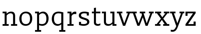 Slabo 27px Regular Font LOWERCASE