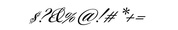 Sloop ScriptMediumThree Font OTHER CHARS