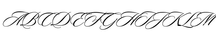 Sloop ScriptOne Font UPPERCASE