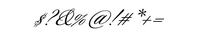Sloop ScriptTwo Font OTHER CHARS
