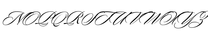Sloop ScriptTwo Font UPPERCASE