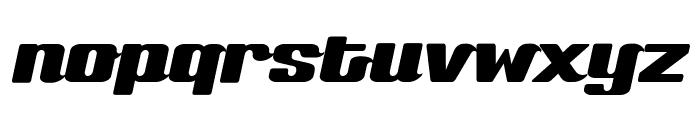 Sneakers Script Narrow Font LOWERCASE