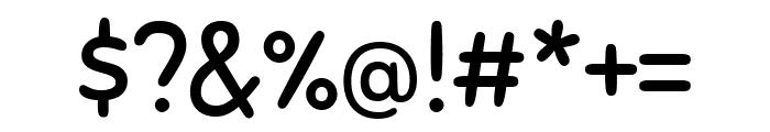Sniglet Regular Font OTHER CHARS
