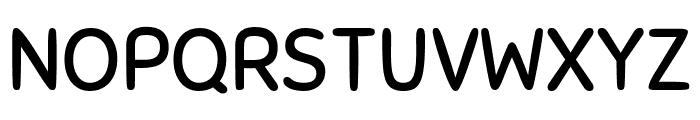 Sniglet Regular Font UPPERCASE