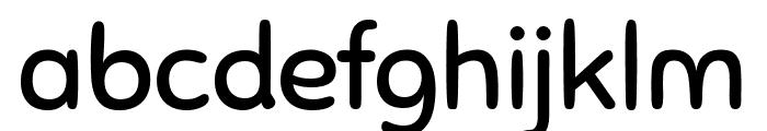 Sniglet Regular Font LOWERCASE