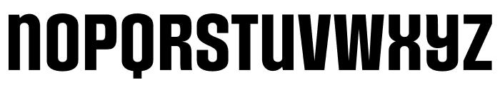 Social Gothic Rough Font LOWERCASE