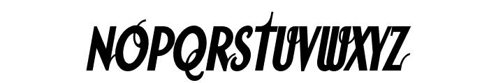SodaScript OT Bold Font UPPERCASE