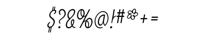 SodaScript OT Light Font OTHER CHARS