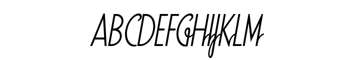 SodaScript OT Light Font UPPERCASE