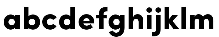 Sofia Pro Condensed Black Font LOWERCASE